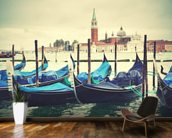 Venice Gondolas Vintage wallpaper mural kitchen preview