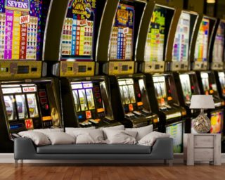 Slot Machines Wall Mural Wallpaper Wall Murals Wallpaper