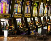 Slot Machines mural wallpaper kitchen preview