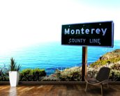 Highway One Monterey wall mural kitchen preview