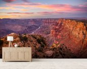Grand Canyon View wall mural living room preview