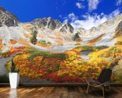 Colourful Mountain Landscape wall mural kitchen preview