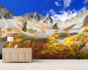 Colourful Mountain Landscape wall mural living room preview
