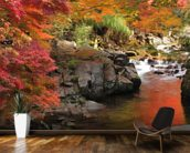 Autumn Colours, Japan mural wallpaper kitchen preview