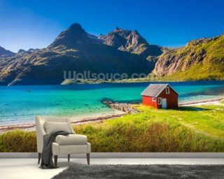 Lofoten Islands wallpaper mural