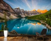 Banff National Park, Moraine Lake wall mural kitchen preview