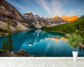 Banff National Park, Moraine Lake wall mural in-room view