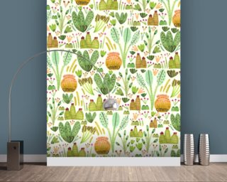 Succulent Garden Wallpaper Wall Murals