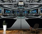 Spaceship Deck mural wallpaper kitchen preview