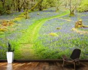 Bluebell Path wall mural kitchen preview
