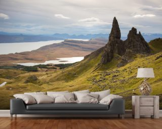 Old Man of Storr wallpaper mural