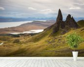 Old Man of Storr wallpaper mural in-room view