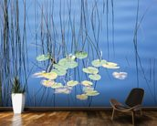 Reeds and Lily Pads wall mural kitchen preview