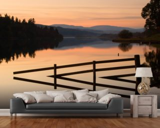 Still on Loch Ken Mural Wallpaper Wallpaper Wall Murals