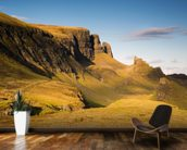 Towers of Skye mural wallpaper kitchen preview
