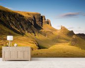 Towers of Skye mural wallpaper living room preview