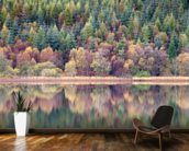 Tranquil wall mural kitchen preview