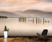 Loch Lomond J mural wallpaper kitchen preview
