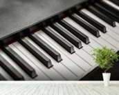Piano Keys wall mural in-room view