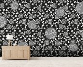 Night Flower wall mural living room preview