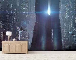 The Metropolis Wallpaper Wall Murals