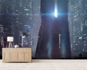 The Metropolis wall mural living room preview