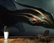 Salamandragon wallpaper mural kitchen preview