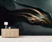 Salamandragon wallpaper mural living room preview