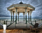 Brighton Bandstand wall mural kitchen preview