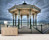 Brighton Bandstand wall mural living room preview