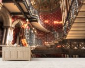 Grand Staircase at St Pancras Renaissance Hotel, London mural wallpaper living room preview
