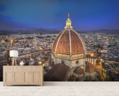 Santa Maria del Fiore Cathedral, Florence mural wallpaper living room preview