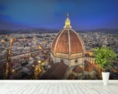 Santa Maria del Fiore Cathedral, Florence mural wallpaper in-room view