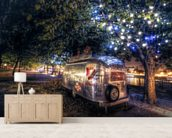 Southbank food van wall mural living room preview