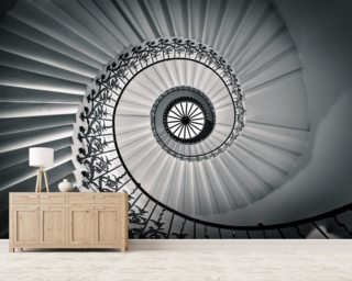 The Tulip Staircase, Greenwich Wall Murals Wallpaper