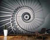 The Tulip Staircase, Greenwich wallpaper mural kitchen preview