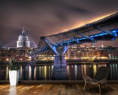 The bridge to St Paul's wall mural kitchen preview
