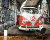 VW Coffee Van wall mural kitchen preview