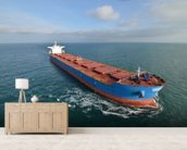 Giant Cargo Ship wall mural living room preview
