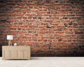 Brick Wall wallpaper mural living room preview