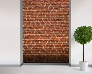 Brick Wall Distressed mural wallpaper