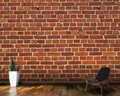 Brick Wall Distressed mural wallpaper kitchen preview
