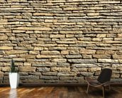 Stone Wall - Sandstone wallpaper mural kitchen preview