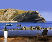 Lulworth cove dorset coast england wall mural kitchen preview