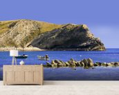 Lulworth cove dorset coast england wall mural living room preview