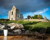 Castle Ruins wallpaper mural kitchen preview