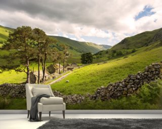 Lakeland Valley Wallpaper Wall Murals