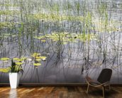 Loch Patterns mural wallpaper kitchen preview