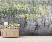 Loch Patterns mural wallpaper living room preview