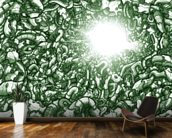 Chasm Green (2013) wallpaper mural kitchen preview